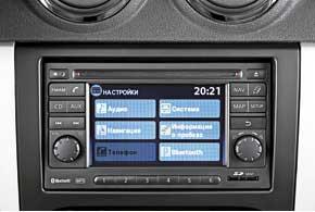 Среди опций – мультимедийная система Nissan Connect снавигацией, ранее недоступная длябюджетных автомобилей.