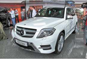 Mercedes-Benz GLK подвергся обновлению и модернизации. Стоимость новинки стартует с 37575 евро.