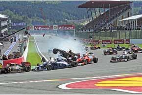 Формула-1: Гран-при Бельгии и Италии