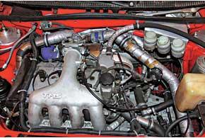 Турбированный двигатель мощностью 237 л. с.