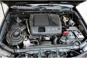 Двигатель объемом 2,5литра развивает 144л.с. и 343Нм. Коробка передач для него предложена только механическая.
