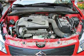 Большинство SX4 оснащено бензиновым двигателем объемом 1,6 л. А вот редкие версии с мотором 2,0 л были завезены «серыми» дилерами из Америки или стран Востока.
