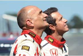 Как признался Габриэле Таркуини (нафото слева), пока он открыл максимум 30%потенциала данного автомобиля.