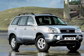 2000–2006 г.в. Hyundai Santa Fe 1-го поколения