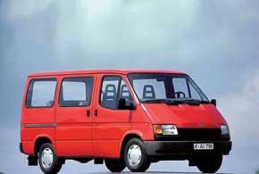 Третья генерация Transit с однообъемным кузовом стала формообразующей для всех последующих поколений.
