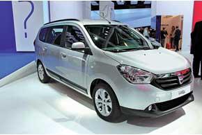 Компактвен Dacia Lodgy предлагается  в5- или 7-местном исполнении.