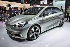 Серийная версия концепта BMW Active Tourer