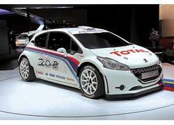 Раллийный болид Peugeot 208 Type R5 сменит 207-й на этапах WRC, IRC и региональных ралли.