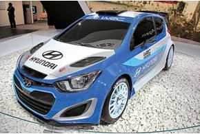После 10-летнего перерыва компания Hyundai возвращается в WRC с заводской командой и болидом на базе Hyundai i20.