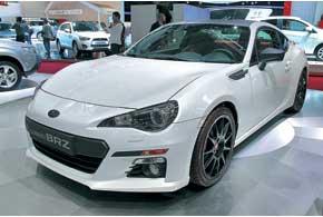 Subaru BRZ висполнении XT Line демонстрирует возможности заводского тюнинга.