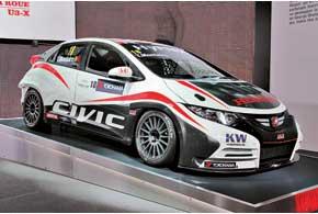 В будущем году заводская команда Honda примет участие в престижном кольцевом Чемпионате WTCC с гоночным Civic.
