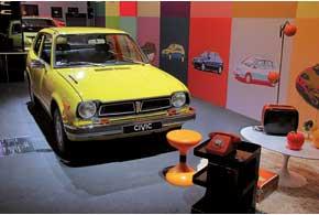 Honda Civic отметила свое 40-летие. За это время было продано более 20 млн. экземпляров данной модели.