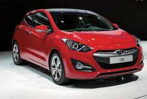 Трехдверный хэтчбек Hyundai i30 в новом поколении станет главным оружием компании в борьбе за европейский рынок.