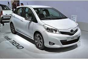 Toyota Yaris Trend отличается от своих «собратьев» дизайном, эксклюзивной отделкой салона и топ-комплектацией.