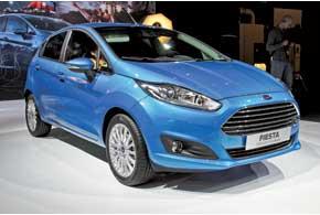 Обновленная Ford Fiesta щеголяет рестайлинговой внешностью и новой линейкой силовых агрегатов.