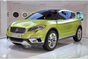 Компактный концептуальный кроссовер Suzuki S-Cross сменит внедалеком будущем Suzuki SX4.