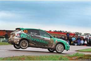 Юрий Протасов/Кирилл Несвит столкнулись с множеством технических проблем, нофинишировали ипо-прежнему лидируют в зачете Rally Class.