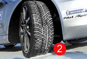 Michelin Pilot Alpin 4 для моделей Porsche (2)