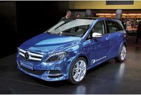 Электромобиль Mercedes-Benz B-Klasse ED оборудован 136-сильным электродвигателем, запас хода – 200 км.