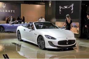 Maserati GranCabrio MC стал крупнее, а под капотом расположился 460-сильный 4,7-литровый V8.