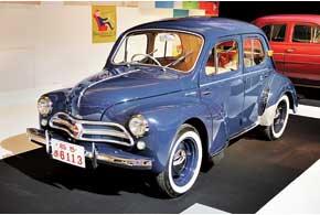 Легендарный Renault 4CV 1959 года выпущен по лицензии японской компанией Hino.