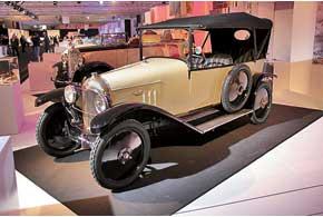 Первенец марки Citroёn – TypeA 1919года с кузовом торпедо и1,3-литровым мотором.