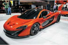 Новый британский суперкар McLarenP1, «максималка» которого превышает 400 км/ч, призван повторить успех легендарного McLaren F1.