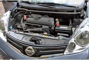Чаще всего под капотом Note встречается бензиновый агрегат объемом 1,6 л, а что касается «механики» и«автомата», то здесь – паритет.