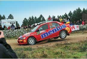 Валерий Горбань до последнего допа боролся за вторую позицию. Но даже третье место сохранило ему великолепные шансы на чемпионство в P-WRC.