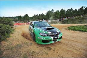 Юрий Протасов вновь был быстрейшим наN-групповой технике. ВИспании даже просто финиш принесет ему победу вмонокубке Subaru.