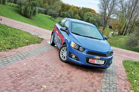 Chevrolet Aveo 2012 г. (третье поколение)