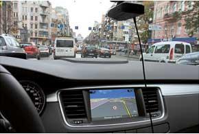 Навигационная система покрывает только 40% Украины, но иногда теряется и в мегаполисе.