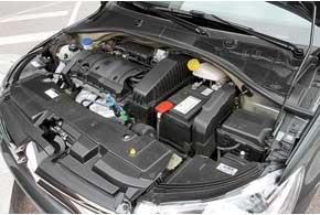 Мотор 1,6 л VTi 115