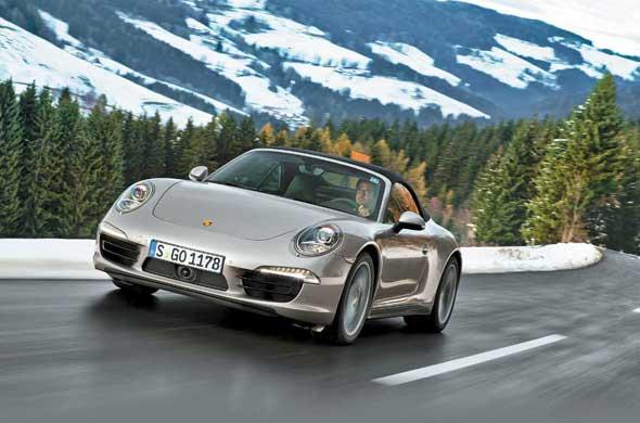 Тест-драйв Porsche 911 Carrera 4 & Carrera 4S