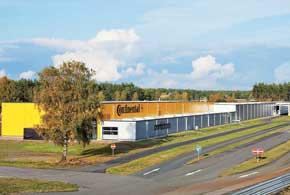 Новый испытательный комплекс компании Continental