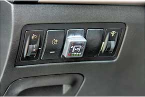 Кнопка управления ГБО Zenit Pro, помимо указателя заполнения газового баллона, имеет индикатор неисправности газобаллонного оборудования.