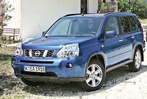 второе поколение Nissan X-Trail