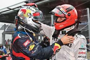 Феттель, став самым молодым трехкратным чемпионом, принял у Шумахера эстафету рекордов Ф-1.