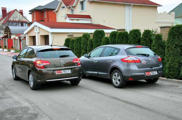 Тест-драйв Citroёn C4, RenaultMegane