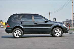 Mercedes-Benz ML (W163) 1997–2005 г. в.