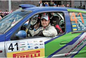 Владимир Кондратенко проехал весь чемпионат Литвы, финишировав пять раз в шести гонках.