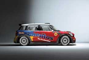 Команда Мentos Ascania Racing пересаживается на Mini Countryman RRC