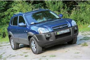 Hyundai Tucson с 2004 г.