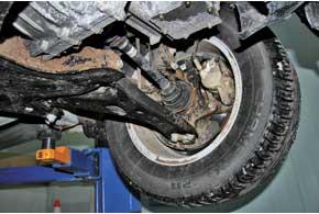 Слабое место тормозной системы– суппорты: часто подклинивают их направляющие, чуть реже– поршни.