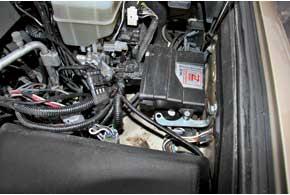 В программном обеспечении блока управления ГБО Zenit-Pro, работающего по OBD-протоколу (подключается к ЭБУ двигателя),  зашиты оптимальные пропорции дозировки газа по отношению кпорциям бензина.