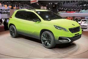 В 2011-м в Шанхае показали концепт SXC, а в прошлом году презентовали 2008 Concept.