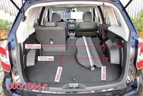 Тест-драйв Subaru Forester