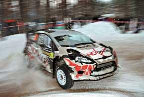 Для Алексея Тамразова это третий старт в карьере за рулем автомобиля класса WRC и, что самое приятное, третий финиш.