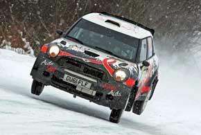 Алексей Кикирешко в первой гонке наMini показал лучший результат вкарьере выступлений в WRC.