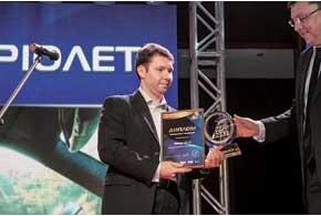 Поздравления заNissan GT-R принимал Алексей Жильцов, начальник отдела продаж «Ниссан Мотор Украина».